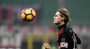 Abate va quitter le Milan. AFP
