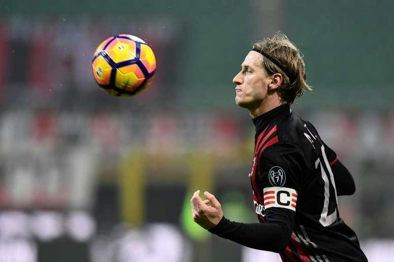 Abate abandonará el Milan nueve años después. AFP