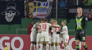 Dortmund won 2-1. AFP
