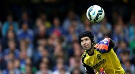 Petr Cech is back at Stamford Bridge. AFP