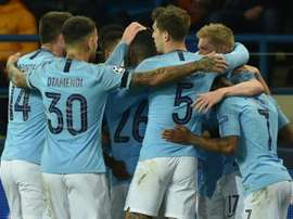 City became the first English side to win at Shakhtar. AFP