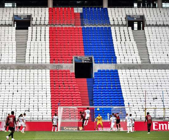 Lyon beat Nice in a friendly. AFP