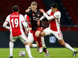 Ajax edge arch-rivals Feyenoord in Dutch derby. AFP