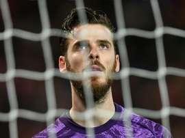 Para De Gea o United melhorou com Bruno Fernandes. AFP
