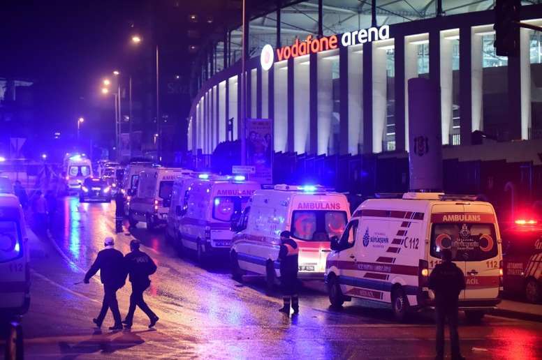 29 people, mainly police officers, were killed on December 10, 2016, in double attacks outside Besiktas FC stadium in Istanbul that followed the clubs home Super Lig match against Bursaspor in the brand new Vodafone Arena opened earlier this year