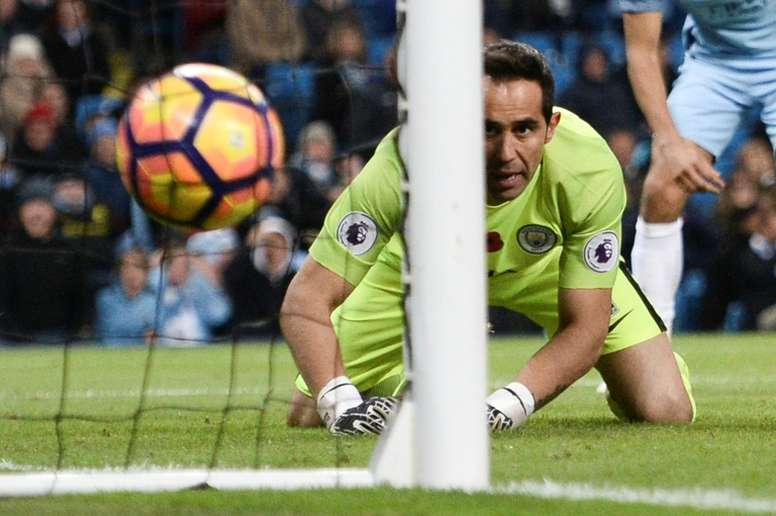 Claudio Bravo has kept just two clean sheets in his last 14 games