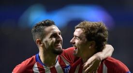 Atlético y Juventus se miden en el Wanda Metropolitano. AFP