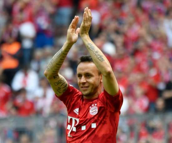 Rafinha envoie un message au Bayern. AFP