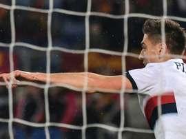 Piatek nel mirino del Real Madrid. AFP