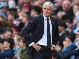 Hughes is under pressure at Southampton. AFP