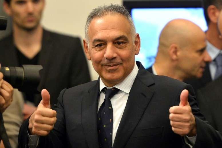 Pallotta no tiene intención de vender al portero. AFP