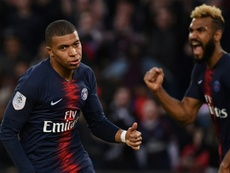 Mbappe breaks 37 year-old record. AFP