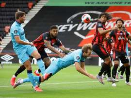 Spurs drew 0-0 with Bournemouth. AFP