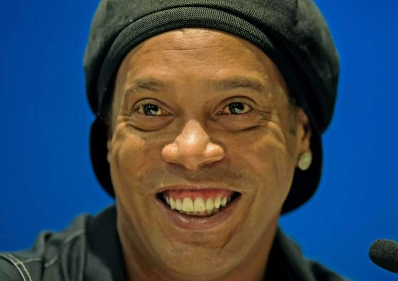 Ronaldinho, de retour au Camp Nou au mois d'août. AFP