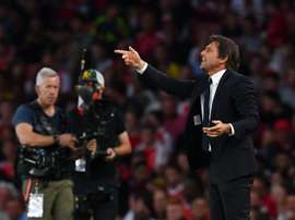 Conte is angry. AFP