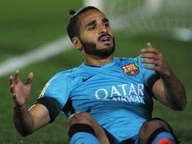 Douglas no consiguió adaptarse al FC Barcelona. AFP
