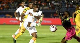 Wilfried Zaha scored for the second game running. AFP