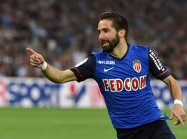 Monacos midfielder Joao Moutinho, pictured on May 10, 2015, will not play for Portugal due to an ankle injury