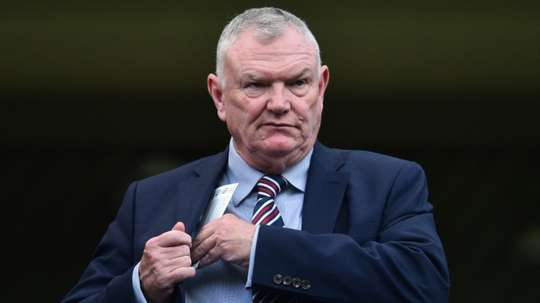 FA Chairman Greg Clarke pictured. AFP