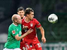 Joshua Kimmich est un pilier au Bayern Munich. AFP