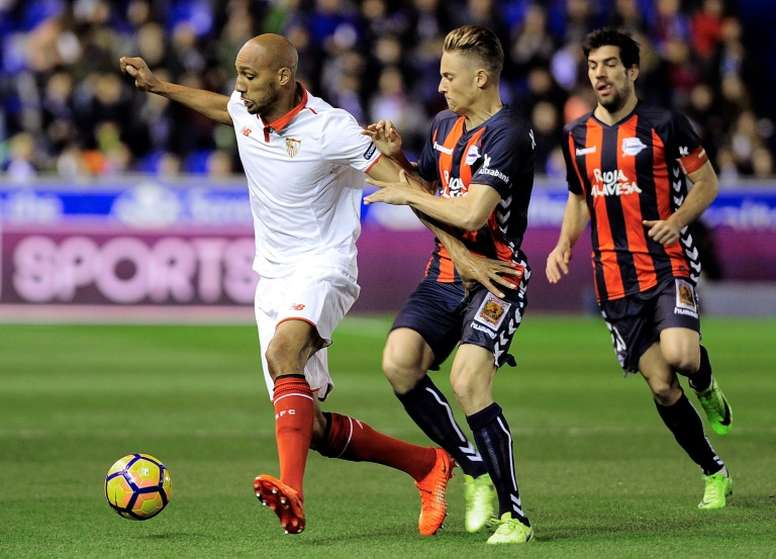 Sevilla's Nzonzi returning to England with point to prove
