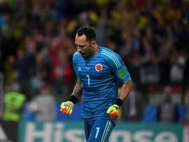 Le joueur ne sait pas s'il restera à Naples ou retournera à Arsenal. AFP