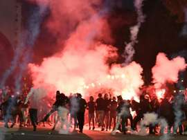 Marseille fans have been banned from the game. AFP
