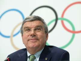 International Olympic Committee boss Thomas Bach, pictured on June 8, 2015, would welcome FIFA following the IOC example by undertaking far-reaching reforms