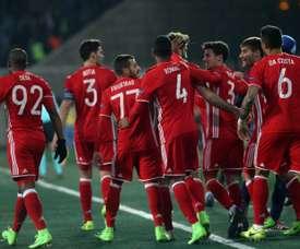 El Olympiakos ha evitado 'in extremis' un resultado sonrojante. AFP/Archivo