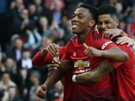 Solskjaer warns Rashford, Martial to improve or risk being replaced. AFP