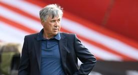Ancelotti piensa en Fernandinho. AFP