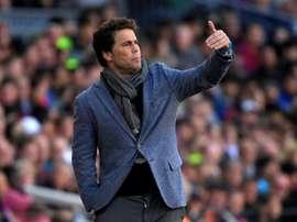 Rubi led Espanyol to a seventh-place finish in La Liga last season. AFP