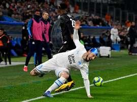 Marseille drew 2-2. AFP