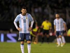 Argentina, una de las selecciones multadas. EFE