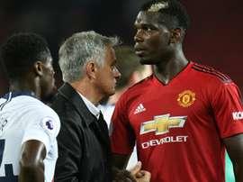 El Manchester United se quiere cubrir las espaldas. AFP