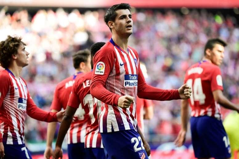 El Atlético, más que un partido ante el Athletic. AFP