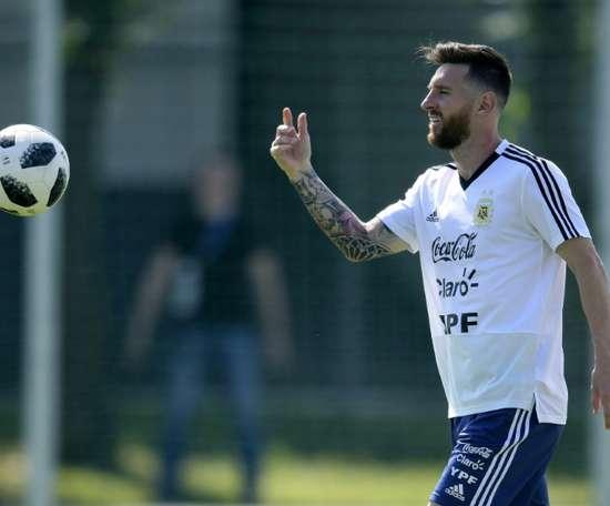 Quantos golos marcou Messi pela Argentina. AFP