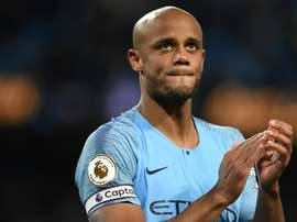 Vincent Kompany has decided to end his 11 year spell at Manchester City. AFP