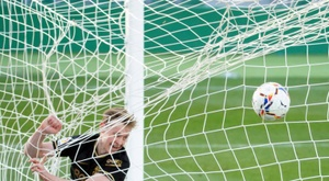 Frenkie de Jong scored and got an assist in win over Elche. AFP