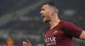 Dzeko pourrait signer à l'Inter. AFP