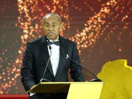 Ahmad Ahmad has been backed for a second term as CAF president. AFP