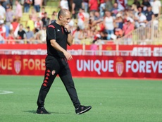 Monaco coach Jardim in spotlight amid awful start to season. AFP