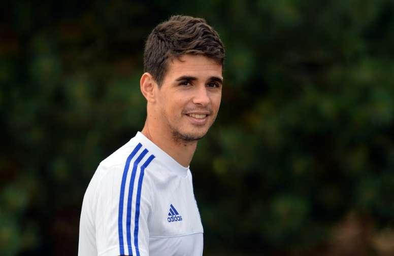 Oscar left Chelsea for Shanghai SIPG in January 2017. AFP