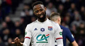 Moussa Dembele is close to joining Man Utd. AFP