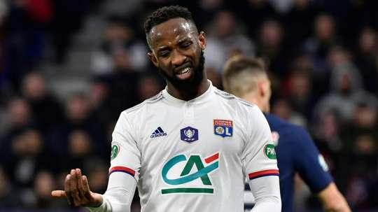 United want Moussa Dembele. AFP/Archivo