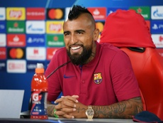 Vidal joins Inter to continue Barcelona exodus. AFP