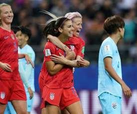 Bronze, Morgan et Rapinoe en lice pour The Best. AFP