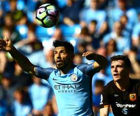 Aguero was on the scoresheet again for City.
