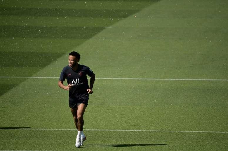 'Neymar peut partir mais seulement si l'offre est de 300 millions d'euros'. AFP
