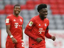 Alphonso Davies was not always a full-back. AFP